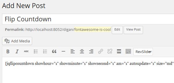 flipcountdown-shortcode