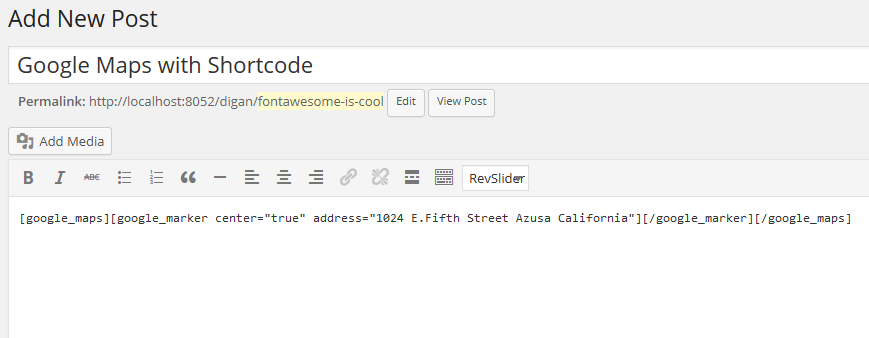 maps-shortcode